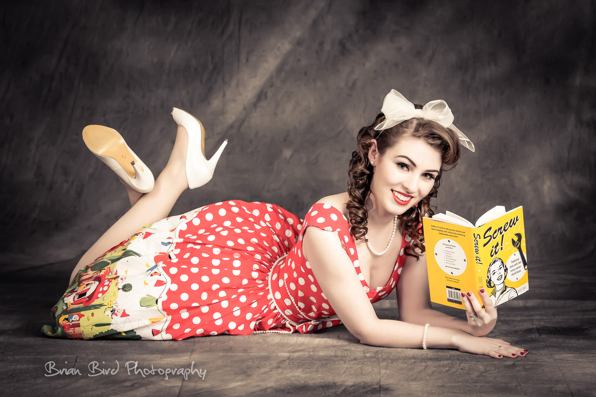 Photo Shoot with Polly Polka-Dot